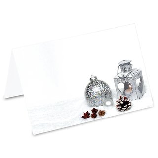Weihnachtsdeko Für Gastronomie.Pricaro Tischkarten Weihnachtsdeko Glitzer 50 Stück